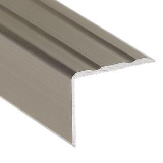 Hoekprofiel 25 x 20 mm aluminium titanum voorgeboord 250 cm