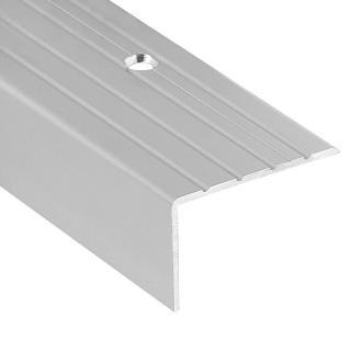 Hoekprofiel 40 x 25 mm Aluminium naturel geboord 300 cm