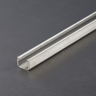 Prochannel glasdragerprofiel 10 mm RVS 100 cm